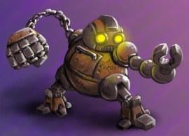 Robot Character Concept Art