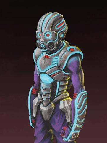 Fantasy Armor Concept Art